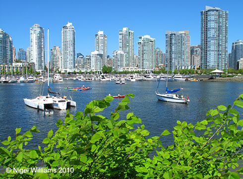 Vancouver greetings card